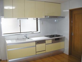 キッチン改修を機にもっと便利な生活空間に。