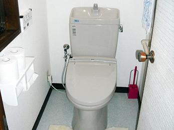 介護保険を利用してお年寄りにも優しいトイレに。