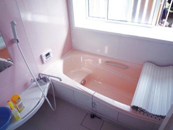 寒いお風呂から快適お風呂にチェンジ。