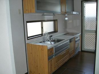 機能満載の便利キッチンに。