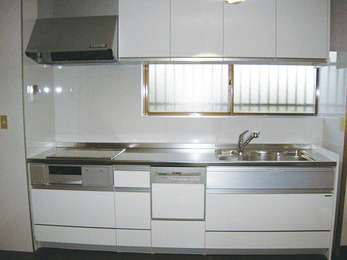 オール電化検討を機にキッチンもリフレッシュ。