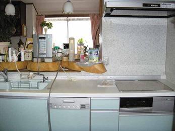 食洗機故障をきっかけに楽々キッチンに入れ替え。