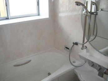 中古住宅をご購入され、入居前に浴室をリフォーム。