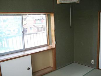 襖と畳を新調してクリーンな空間を演出。