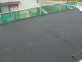 産廃も発生しないエコ工事で屋根の葺替。
