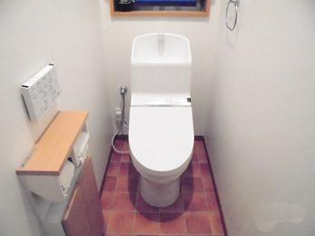 壁リモコンの使い易いシャワートイレに。