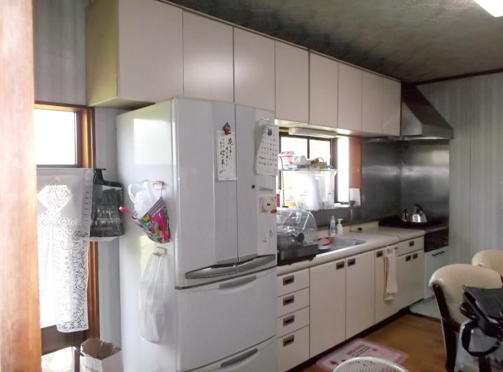 クリナップのキッチン施行例