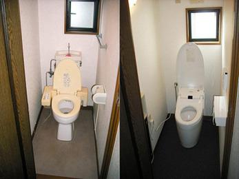 便器まわりをスッキリさせたい!ご要望に応じたトイレ空間に。