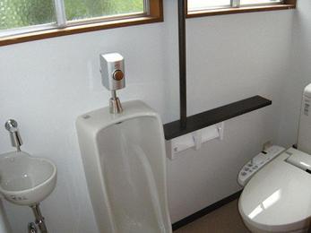 安全かつ掃除もしやすいトイレに生まれ変わりました。