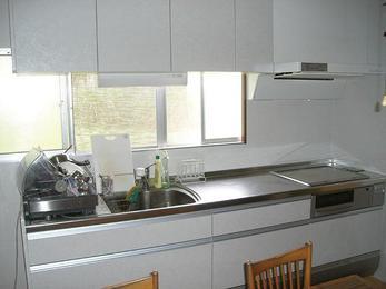 自動洗浄のレンジフードでお掃除が格段と楽に。