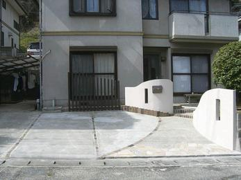 駐車スペースを素敵に拡げる。