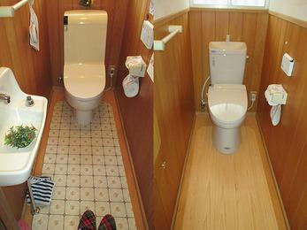 節水タイプのトイレでエコ生活に
