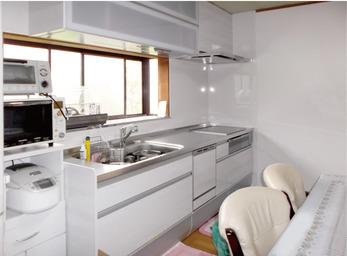 新しい快適なキッチンへ…。