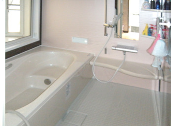 補助金を使って、浴室を拡張。