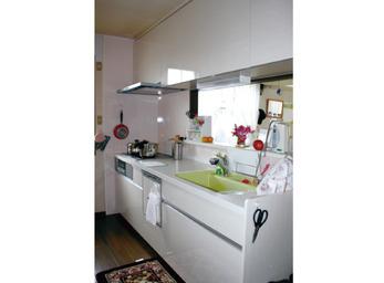 毎日使うからこそ快適に...。 40年間ご利用のキッチン改装。