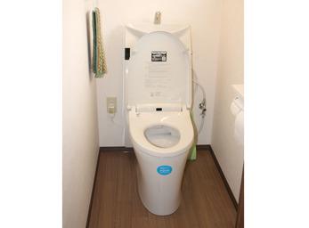 最新便利機能の、洋式トイレへリニューアル。