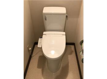 最新機能でお悩み解決。より快適なトイレへ。